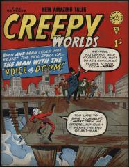 Creepy Worlds #43 (Tales to Astonish #42)