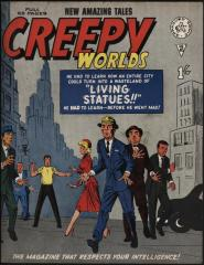 Creepy Worlds #45 (Amazing Adult Fantasy #12 cover story/Journey into Mystery #102 inside)