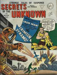 Secrets of the Unknown #71 (Tales of Suspense #46)