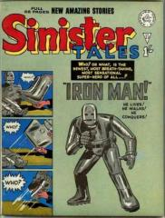 Sinister Tales #23 (Tales of Suspense #39)