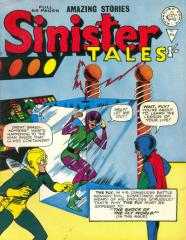 Sinister Tales #84 (reprints Tales of Suspense #39 1st Iron Man inside)