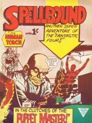Spellbound #50 (Fantastic Four #8 - note original UK cover art)