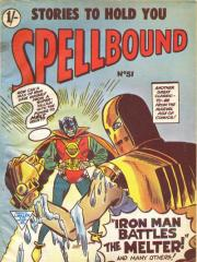 Spellbound #51 (Tales of Suspense #47 - note original UK cover art)
