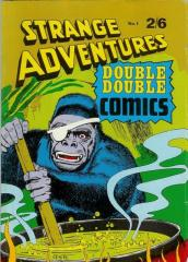 Strange Adventures Doube Double Comics #1