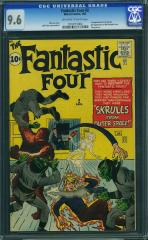 Fantastic Four #2 9.6 $31,000 Nov 2010