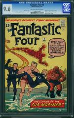 Fantastic Four #4 9.6 $48,102 May 2011
