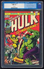 Incredible Hulk #181 9.9 $150,000 Feb 2011
