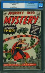 Journey into Mystery #83 9.2 $82,800 Feb 2011