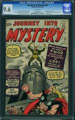 Journey into Mystery #85 9.6 $25,250 May 2011