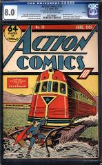 Action Comics #13 (sold for $67, 435 Nov 2011)
