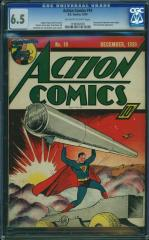 Action Comics #19 6.5 $7,877 (Guided at $5,957) Feb 2016
