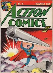 Action Comics #19 (sold for $4,633 Mar 2009)