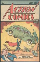 Action Comics #1 Safeguard reprint - the most sought after of the various Action Comics #1 reprints