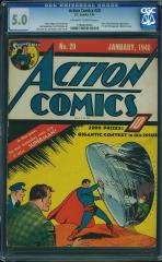 Action Comics #20  5.0  $7,877 Feb 2015