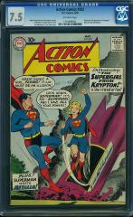 Action Comics #252 7.5 $5,966 Feb 2015