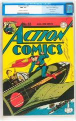 Action Comics #63 (Sold for $38,240 May 2015)
