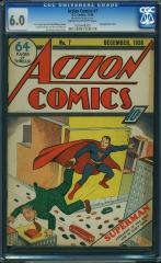 Action Comics #7 6.0 $175,000 (Guided at $54,000) May 2016