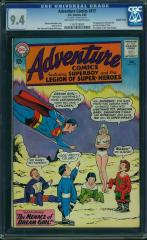 Adventure Comics #317 9.4 $1,152 Feb 2016 Double cover but only 2nd Highest Graded