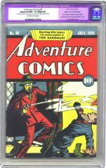 Adventure Comics #40 (Sold for $63,250 in Feb 2004)