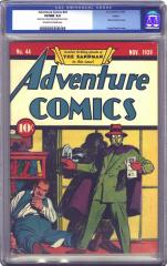 Adventure Comics #44  (sold for $9,487.50 Oct 2002)