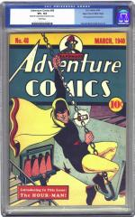 Adventure Comics #48 (Sold for $54,625 Oct 2002)