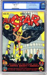 All Star Comics #10 (Sold for $16,100 in Oct 2005)