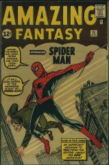 Amazing Fantasy #15 - 1st appearance of Spider-Man