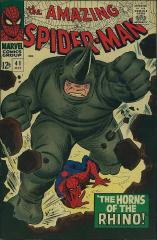 Amazing Spider-Man #41 - 1st appearance of The Rhino