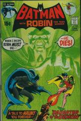 Batman #232 - 1st appearance of Ra's Al Ghul