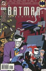 Batman Adventures Annual #1 - early Harley Quinn appearance