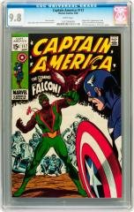 Captain America #117 9.8 $6,572.50 May 2011