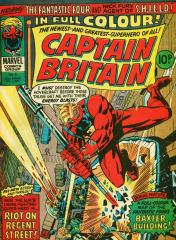 Captain Britain #8 - 1st appearance of Psylocke