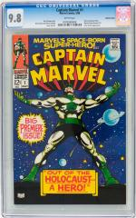Captain Marvel (1st) #1 9.8 $2,629 May 2013