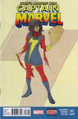 Captain Marvel (7th Series) #17 2nd printing - 1st Kamala Khan as Captain Marvel