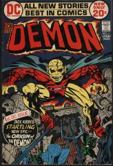The Demon #1 - Origin and 1st appearance