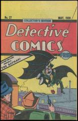 Detective Comics #27 Oreo Reprint - 1984 collectible in demand!