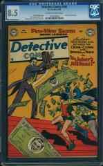 Detective Comics #180 $4,000 (Guided at $1,007) Feb 2016