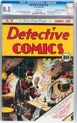 Detective Comics #18 (Sold for $26.290 in Nov 2013)