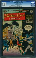 Detective Comics #195 $2,200 (Guided at $428) Feb 2016