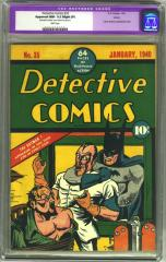 Detective Comics #35 (Sold for $8,912.50 in 2002)