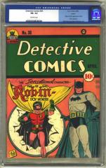 Detective Comics #38 (Sold in 2002 for $11,500)