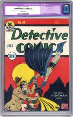 Detective Comics #41 (sold for $1,610 Jan 2006)