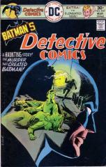 Detective Comics #457 - great cover and 1st Leslie Thompkins