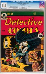 Detective Comics #51 (Sold for $4.780 Aug 2013)