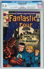 Fantastic Four #45 9.8 $35,850 Feb 2016 Heritage (previous best $7,767.50 Jul 2012 Heritage)