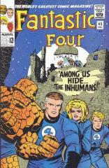 Fantastic Four (1st) #45 - 1st appearance The Inhumans