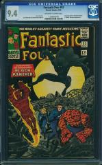 Fantastic Four #52 9.4 3rd Highest $5,105 Feb 2015