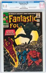 Fantastic Four #52 9.8 $83,650 (Feb 2016 Heritage Auctions)