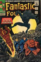 Fantastic Four (1st) #52 - 1st appearance of Black Panther