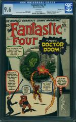 Fantastic Four #5  9.6 Highest - $96,267